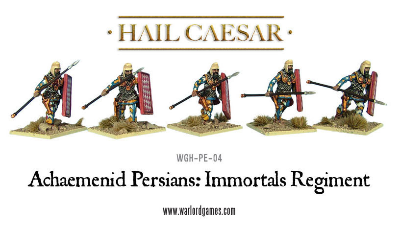 Hail Caesar: Greeks: Persian Immortals Regiment