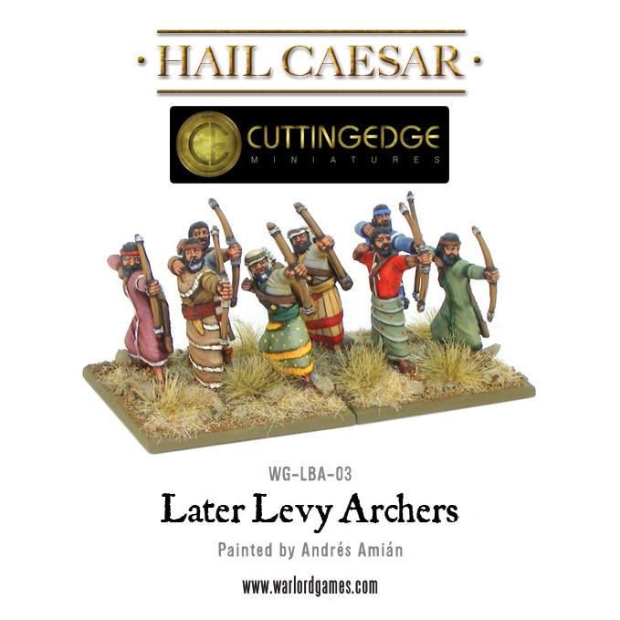 Hail Caesar: Hittite: Levy/ Later Levy Archers (Blister)