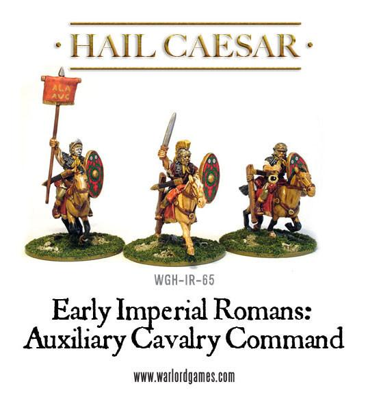 Hail Caesar: Imperial Romans: Auxiliary Cavalry Command Pack