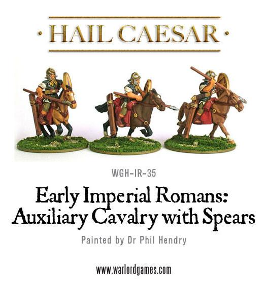 Hail Caesar: Imperial Romans: Auxiliary Cavalry with Spears Pack