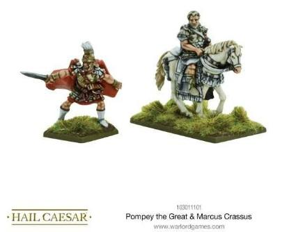 Hail Caesar: Roman: Pompey The Great & Marcus Crassus