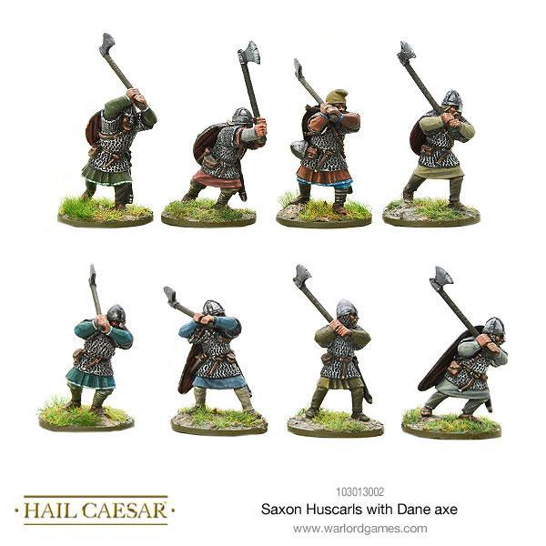 Hail Caesar: Saxon: Huscarls with Dane Axe