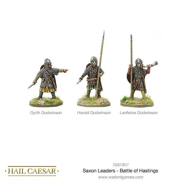 Hail Caesar: Saxon: Leaders - Battle of Hastings