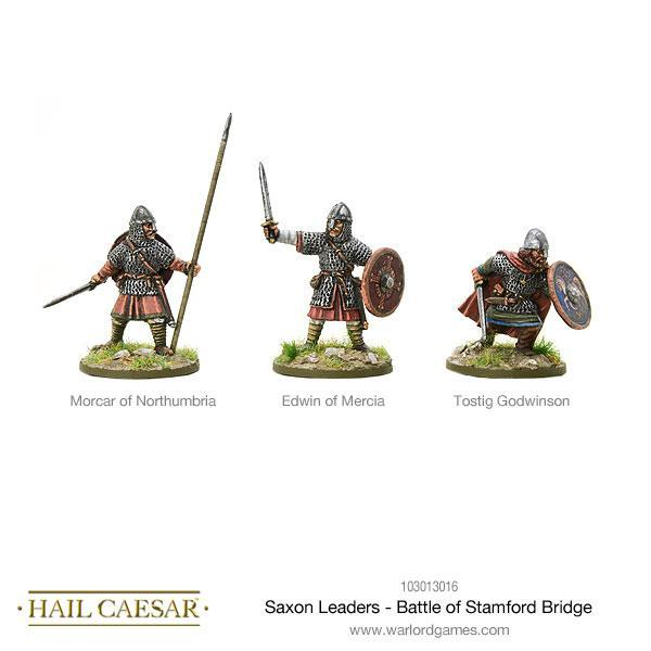 Hail Caesar: Saxon: Leaders - Battle of Stamford Bridge