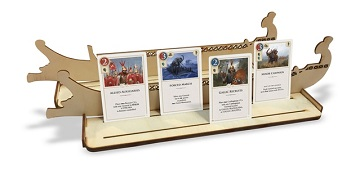 Hannibal and Hamilcar: Wooden Card Holders