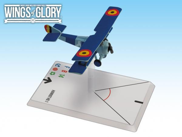 Wings Of Glory (WWI): Hanriot HD.1 (Coppens)