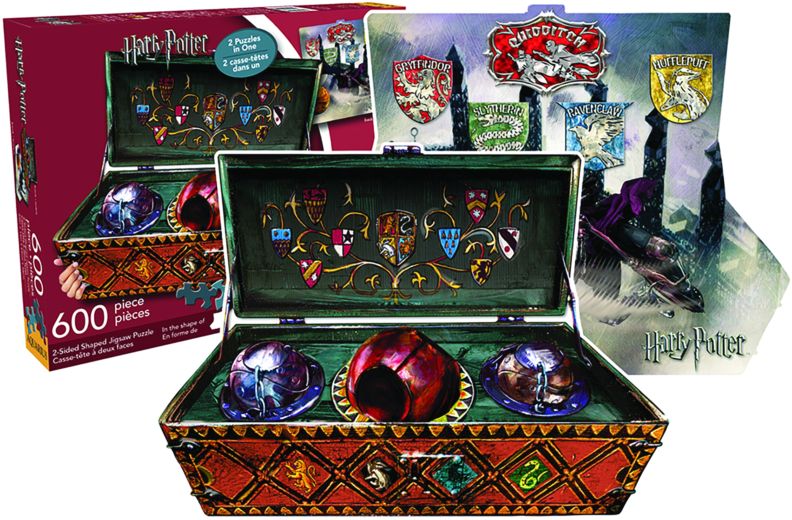 Harry Potter: 2 Sided 600 Piece Diecut Jigsaw Puzzle