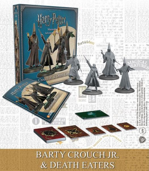 Harry Potter Miniatures Adventure Game: Barty Crouch Jr. & Death Eaters