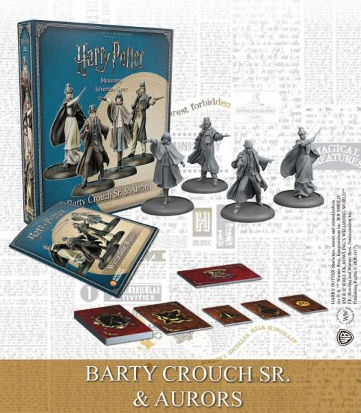 Harry Potter Miniatures Adventure Game: Barty Crouch Sr. & Aurors