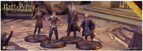 Harry Potter Miniatures Adventure Game: Gryffindor Students