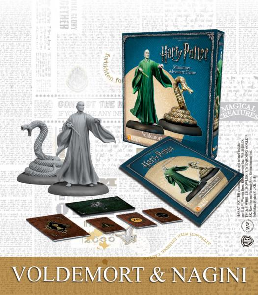Harry Potter Miniatures Adventure Game: Lord Voldemort & Nagini