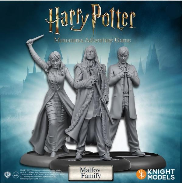 Harry Potter Miniatures Adventure Game: Malfoy Family