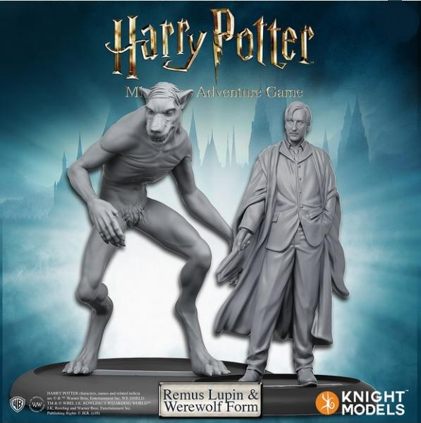 Harry Potter Miniatures Adventure Game: Remus Lupin and Werewolf Form