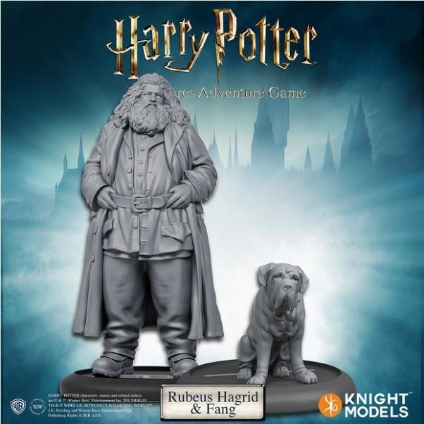Harry Potter Miniatures Adventure Game: Rubeus Hagrid and Fang