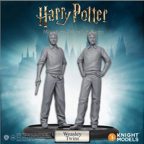 Harry Potter Miniatures Adventure Game: Weasley Twins