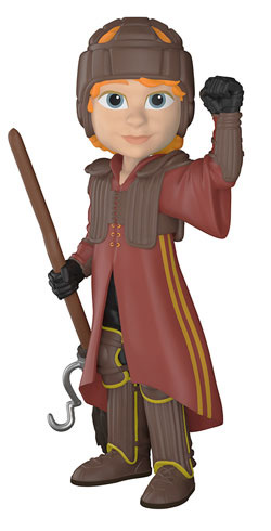 Harry Potter: Ron Weasley Quidditch Uniform (Rock Candy Figure)