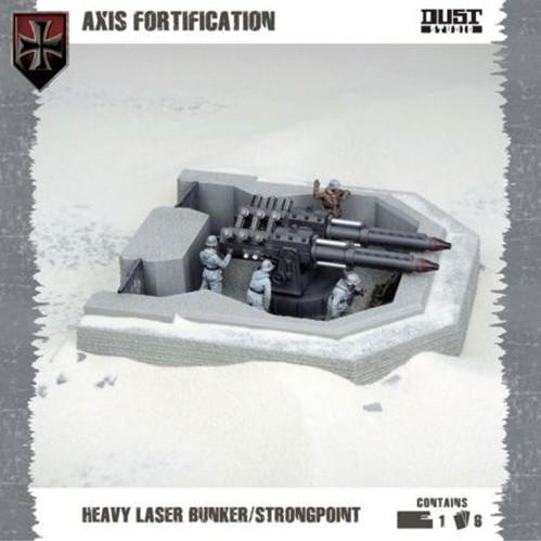 Dust Tactics/ Warfare: Axis: Heavy Laser Bunker/ Strongpoint