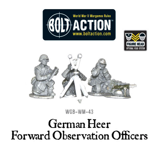 Bolt Action: German: Heer Forward Observation Officers