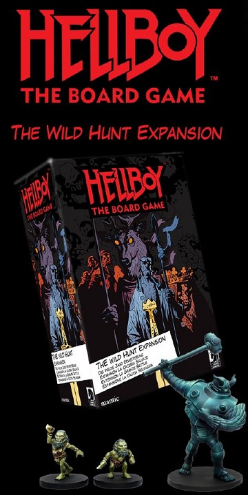Hellboy The Board Game: The Wild Hunt Expansion