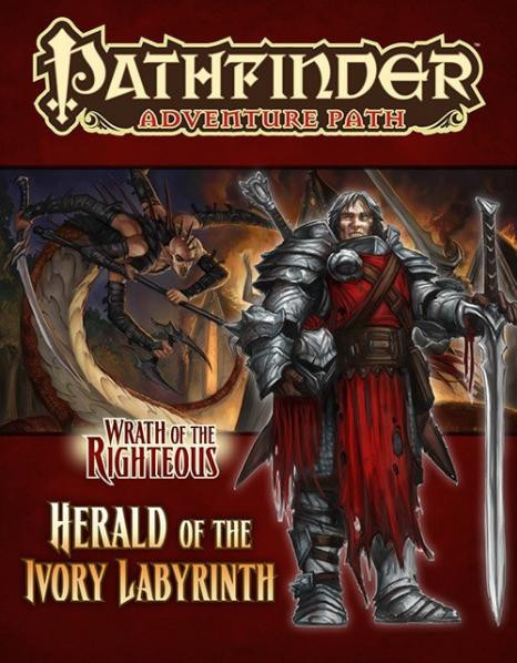 Pathfinder Adventure Path: Wrath of the Righteous #5: Herald of the Ivory Labyrinth (SALE)