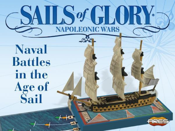 Sails of Glory: Hermione 1779 – French Frigate Ship Pack