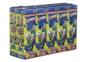 Heroclix: Batman And His Greatest Foes: The Joker's Wild! Booster