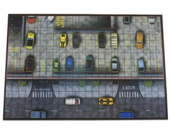 Heroclix: Premium Playmat: Parking Garage