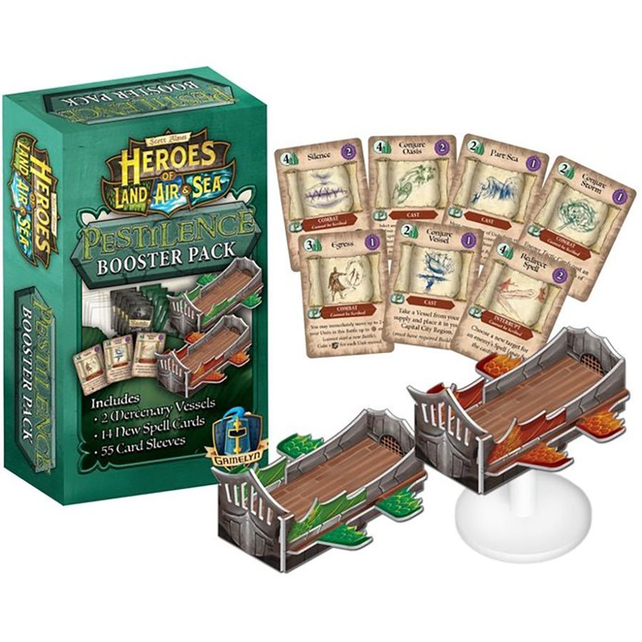 Heroes of Land Air and Sea - Pestilence Booster Pack