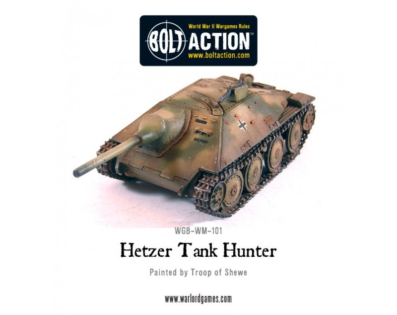 Bolt Action: German: Hetzer Tank Hunter