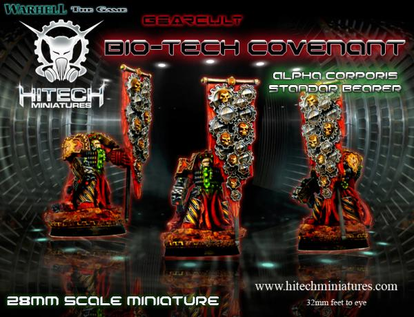Warhell: Gearcult Bio-Tech Covenant- Alpha Corporis # 7