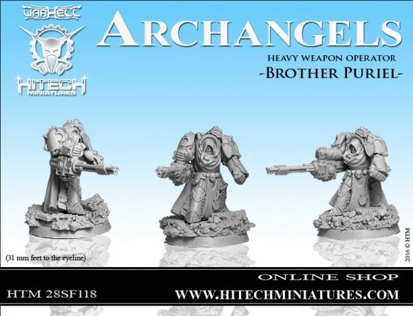 WarHell: Archangels- Brother Puriel