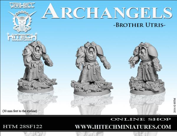 Warhell: Archangels- Brother Utris