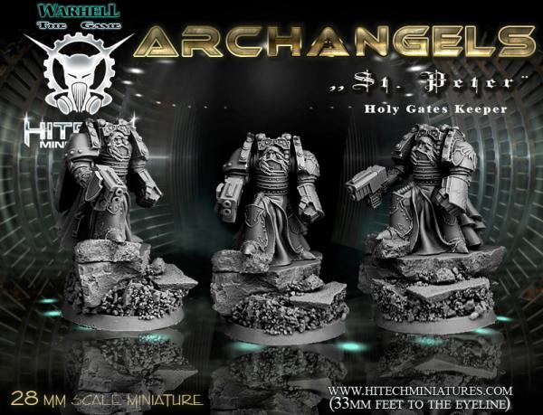 Warhell: Archangels- St Peter Holy Gates Keeper