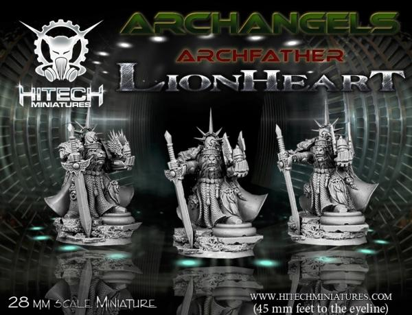 Warmill: Archangels/ Archfather- Lionheart