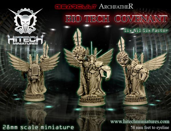 Warhell: Gearcult Bio-Tech Covenant- Archfather Six Nil Six Factor