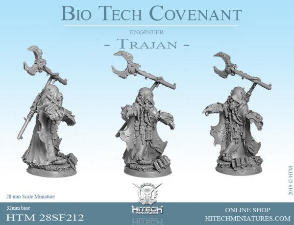 HiTech Miniatures: Bio-Tech Covenant- Engineer Trajan