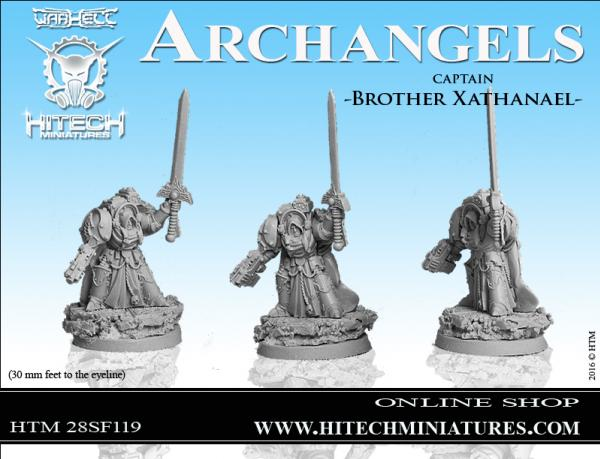 WarHell: Archangels- Captain Brother Xathanael
