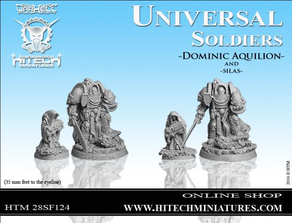 WarHell: Universal Soldiers- Dominic Aquilion and Silas