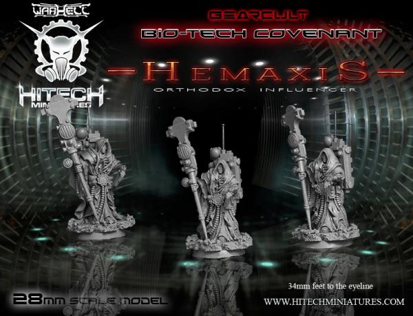 Warhell: Gearcult Bio-Tech Covenant- Hemaxis Orthodox Influencer