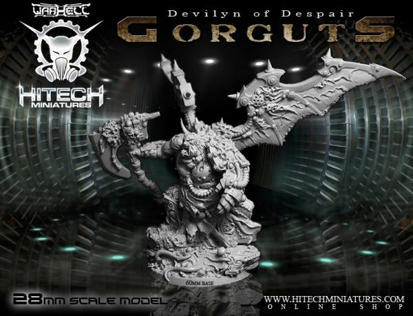 HiTech Miniatures: Devilyn Of Despair Gorguts