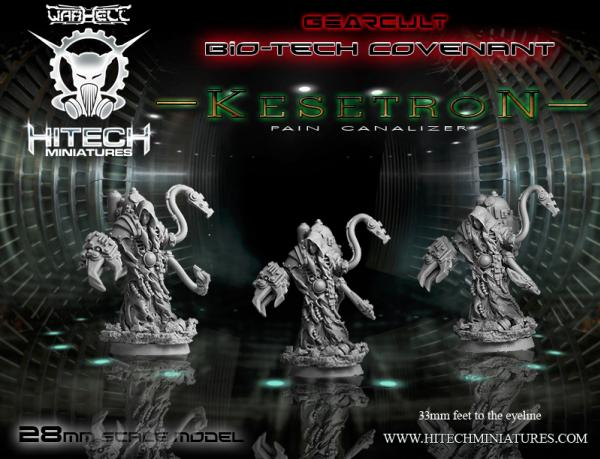 Warhell: Gearcult Bio-Tech Covenant- Kesetron