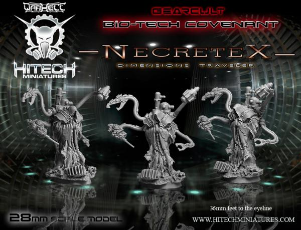 Warhell: Gearcult Bio-Tech Covenant- Necretex