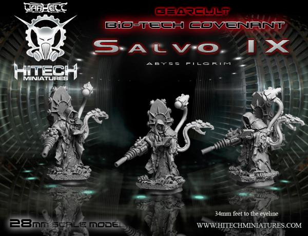 Warhell: Gearcult Bio-Tech Covenant- Salvo IX