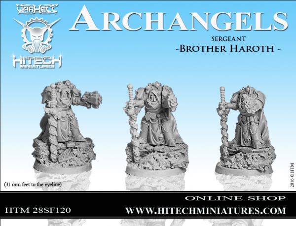 WarHell: Archangels- Sergeant Brother Haroth