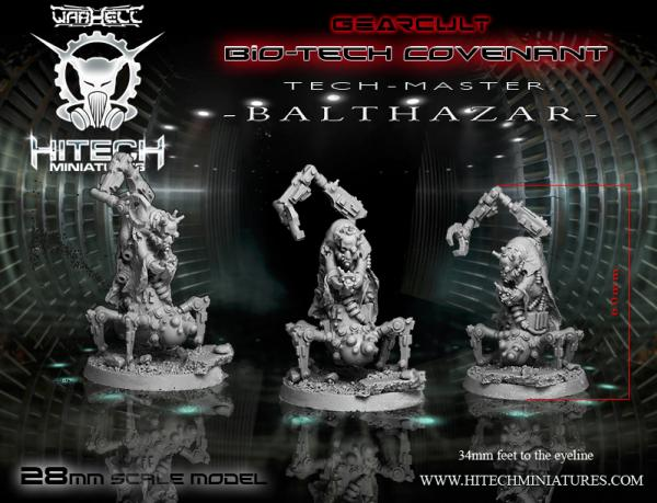 Warhell: Gearcult Bio-Tech Covenant- Tech Master Balthazar
