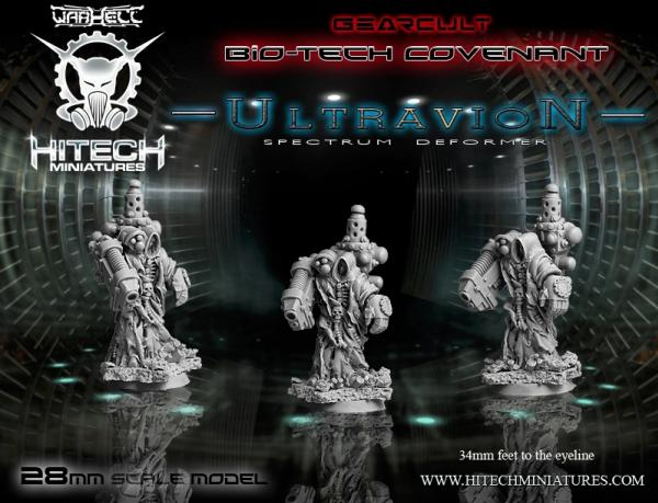 Warhell: Gearcult Bio-Tech Covenant- Ultravion