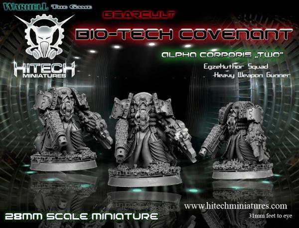 Warhell: Gearcult Bio-Tech Covenant- Alpha Corporis # 2