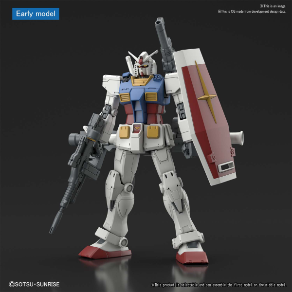 High Grade Gundam The Origin 1/144 RX-78-02 GUNDAM