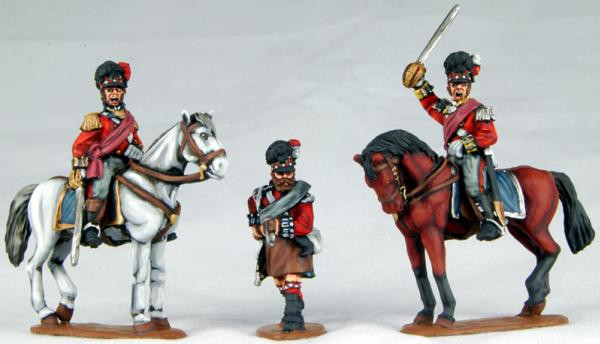 Victrix 28mm: Metal: Highland Colonels & Foot Pioneer