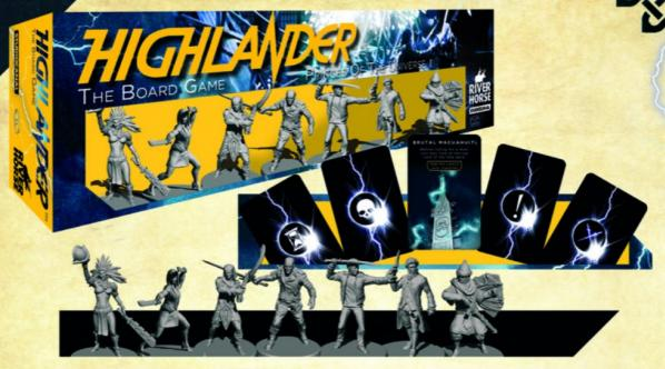 Highlander The Board Game: Princes of the Universe